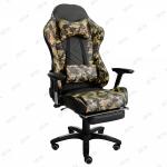 Кресло игровое Counter Strike Zeta эко-кожа зеленый хаки