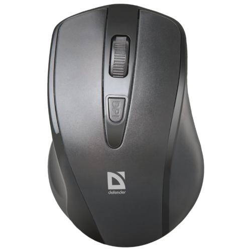 Мышь беспроводная Defender Datum MM-265, черный